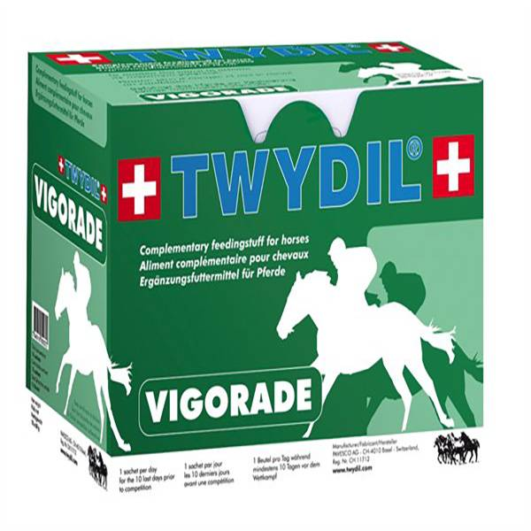 Twydil Vigorade Aliment Complementaire Prep Competition Chevaux Poudre Orale 10 sachets 50g