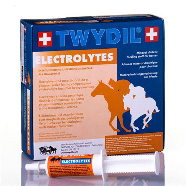 Twydil Aliment Complementaire a Base d'Electrolytes Chevaux Pate Orale 50 seringues de 60ml