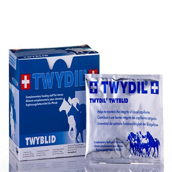 Twydil Twyblid Aliment Complementaire Capillaires Sanguins Chevaux Poudre Orale 100 sachets de 50g