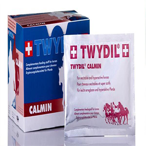 Twydil Calmin Aliment Complementaire Excitabilite Stress Chevaux Poudre Orale 21 sachets de 50g