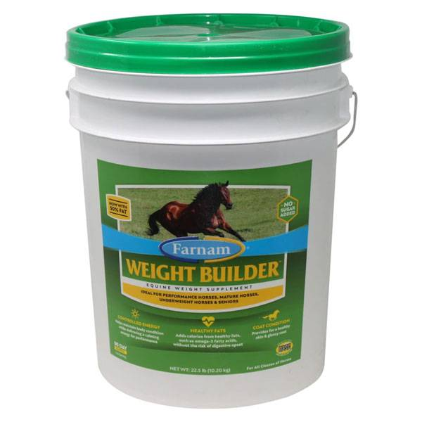 Pommier Nutrition Farnam Weight Builder Chevaux 10,20kg
