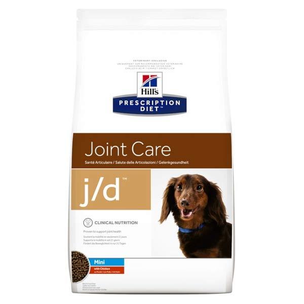 Hill's Prescription Diet Canine J/D Joint Care Mini Croquettes Poulet 2kg