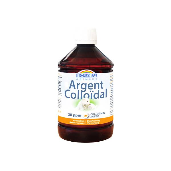 Biofloral Animaux Argent Colloidal 20 ppm 500ml