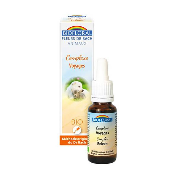 Biofloral Animaux Complexe Voyage 20ml