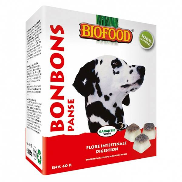 Biofood Chien Bonbons Panse de Mouton Digestion 40 pièces