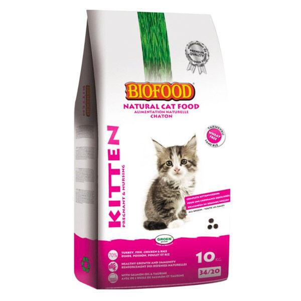 Biofood Chaton Croquettes Kitten 10kg