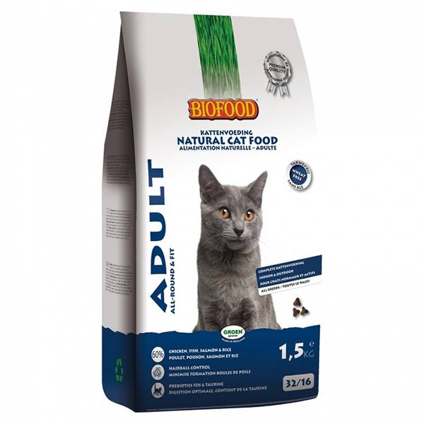 Biofood Chat Croquettes Adulte 1,5kg