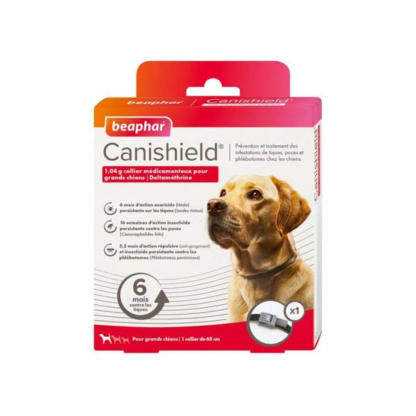 Beaphar Canishield Collier Grands Chiens 1 unité