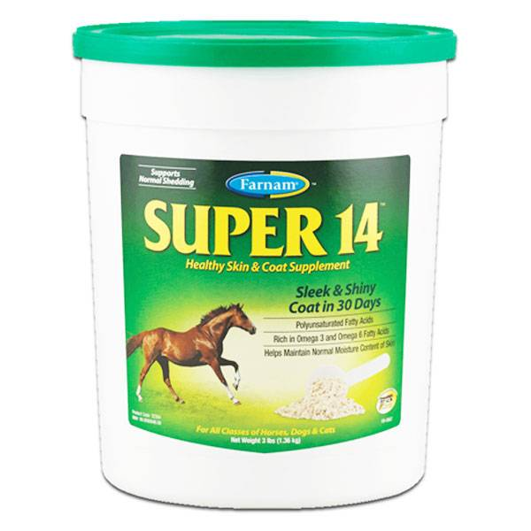 Super 14 Beaute Peau Poil Crin Cheval Poudre Orale 2,950kg