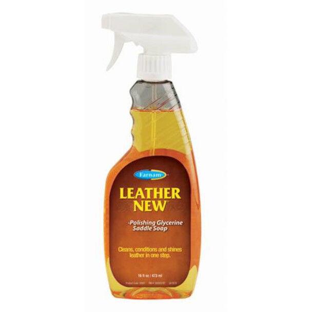 Pommier Nutrition leather new savon glycerine pour les cuirs flacon recharge de 1l89