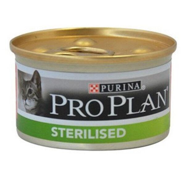 Purina Proplan Chat Adulte Stérilisé Saumon 24 Boîtes