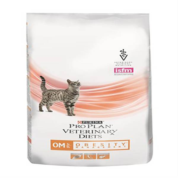 Purina Veterinary Diet Chat OM (Obesity Management) st/ox Struvite Oxalate Croquettes 1,5kg