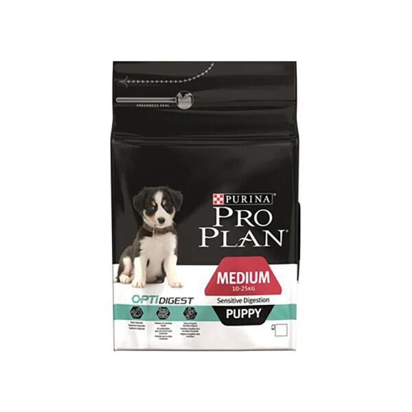 Proplan Puppy (-12mois) Medium (10 à25kg) Sensitive Digestion Optidigest Agneau Croquettes 12kg