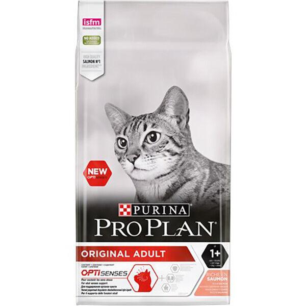 Proplan Chat Adulte (+1an) Original Optisens Saumon Croquettes 3kg