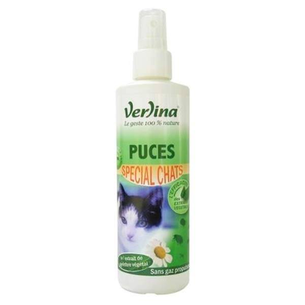 Verlina Chat Spray Anti-Puces 250ml