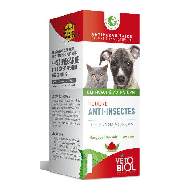 Vetobiol Poudre Anti Insectes 100g