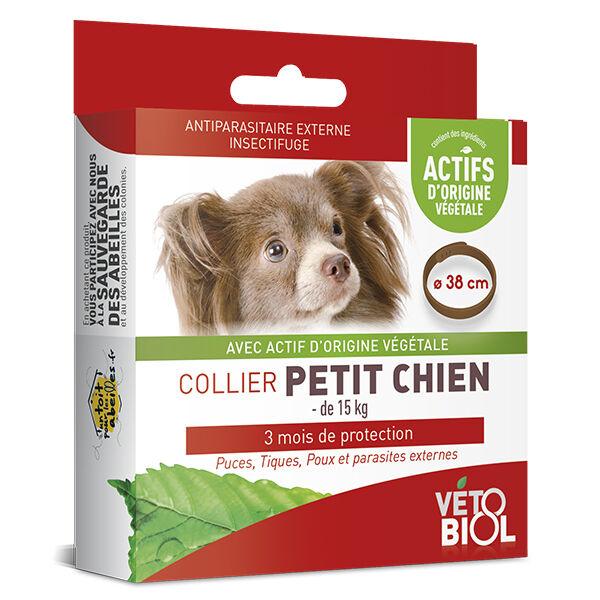 Vetobiol Vétobiol Antiparasitaire Collier Petit Chien Marron 38cm