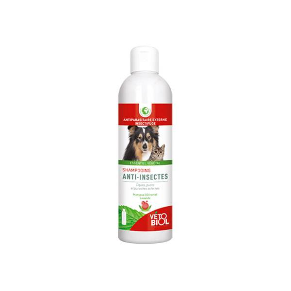 Vetobiol Shampooing Anti Insectes Bio 240ml