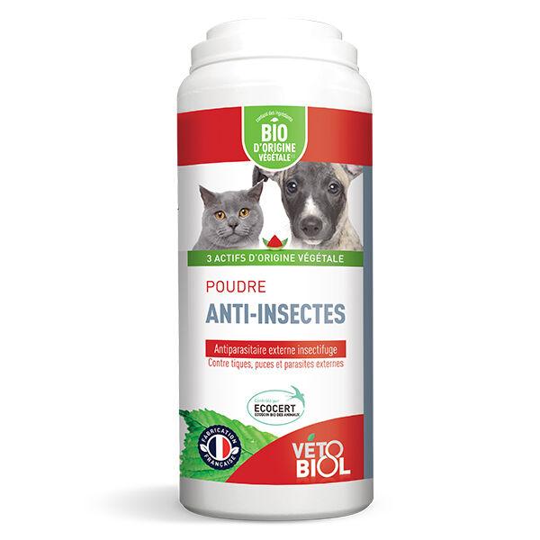 Vetobiol Vétobiol Antiparasitaire Poudre Anti-Insectes Bio 100g