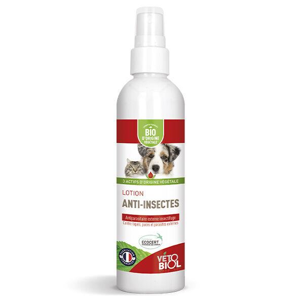 Vetobiol Vétobiol Antiparasitaire Lotion Anti-Insectes Bio 240ml