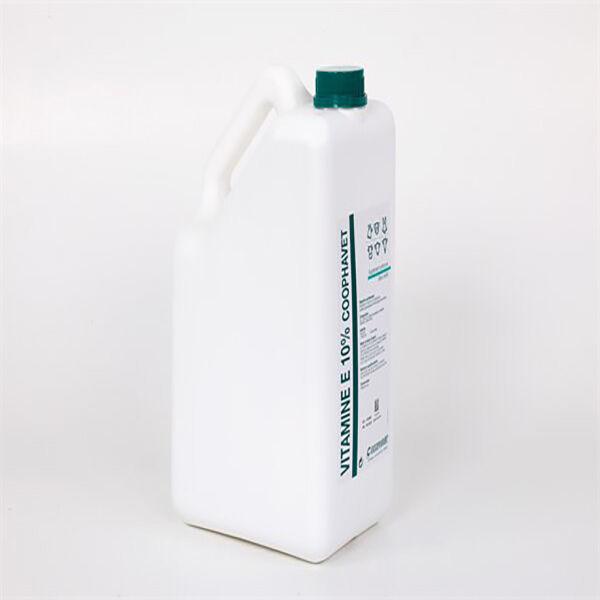 Coophavet Vitamine E 10% Aliment Complémentaire Diététique Reproduction Oestrus Gros Animaux solution bidon 5L