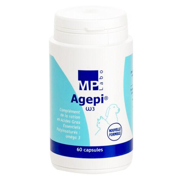 Agepi Omega 3 Supplément en Acide Gras Essentiel Chien Chat 60 capsules