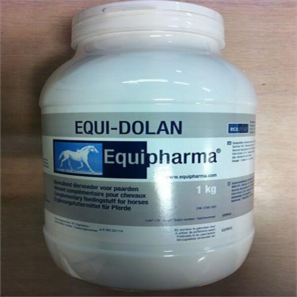 Ecuphar Equi-Dolan Périodes de Surcharge Cheval Poudre Orale 1kg