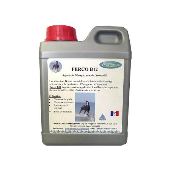 Sennecq Bonne bonne ferco b12 anemie manque d'appetit cheval solution buvable flacon de 1l
