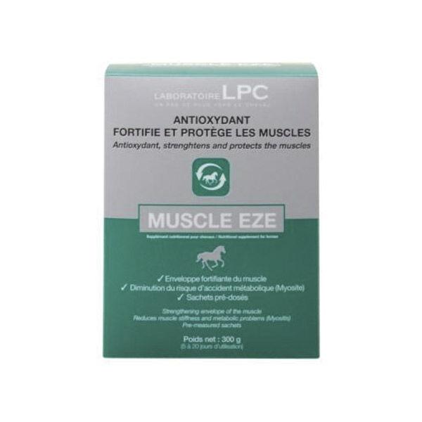 Sanders Muscle Eze Complément Nutritionnel Entrainement Cheval poudre orale sachet de 30g boite de 10