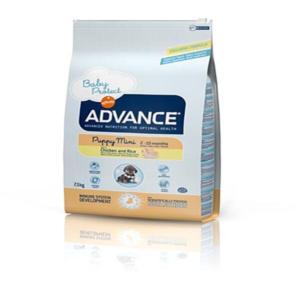 Affinity Petcare Advance Chiot de 2 à 8 mois de Petite Race (-10kg) Poulet 7,5kg
