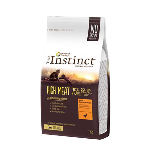 Affinity Petcare True Instinct Chat Adulte(+12mois) High Meat Poulet 7kg