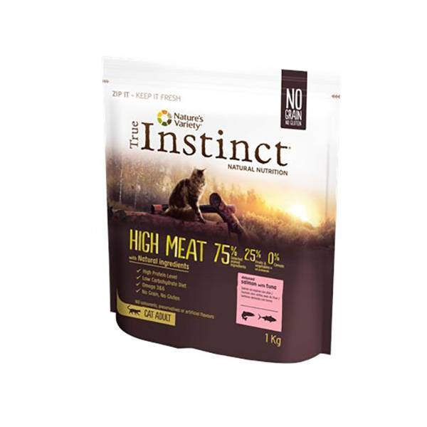 Affinity Petcare True Instinct Chat Adulte(+12mois) High Meat Saumon 1kg