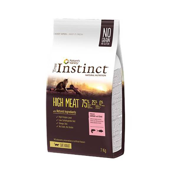 Affinity Petcare True Instinct Chat Adulte (+12mois) High Meat Saumon 7kg