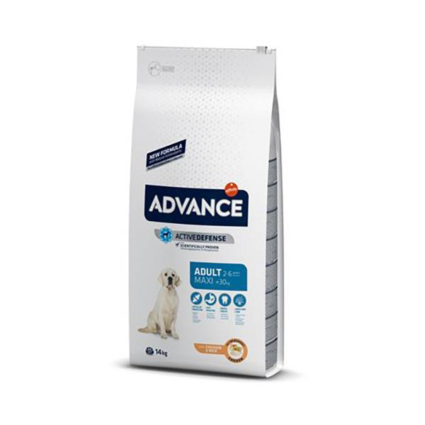 Affinity Petcare Advance Chien Junior de 12 à 24 mois de Grande Race (+30kg) Poulet 4kg
