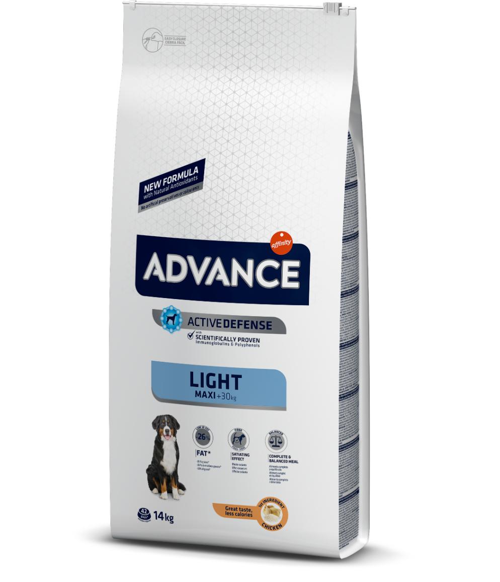 Advance Chien Croquettes Adulte Maxi Light 14kg