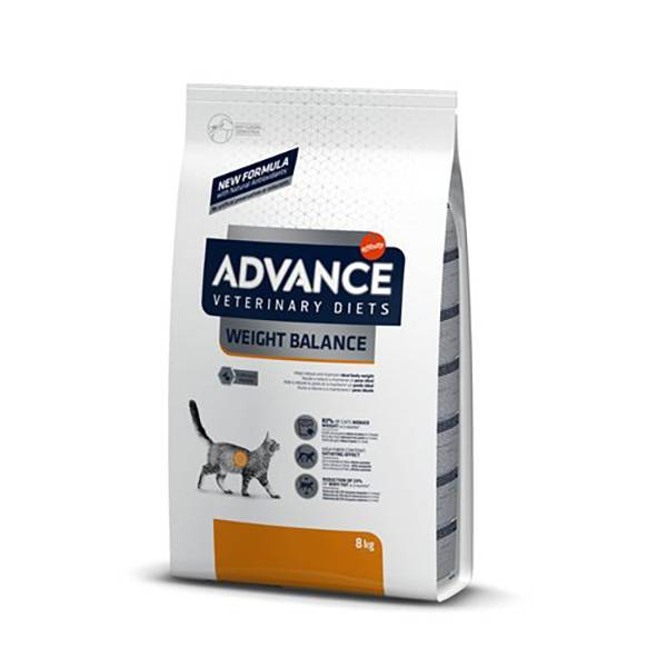 Affinity Petcare Advance Veterinary Diet Chat Weight Balance (Obesity) 8kg