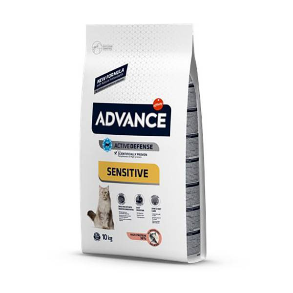 Advance Chat Adulte de 1 à 10ans Sensitive Digestion Saumon 10kg