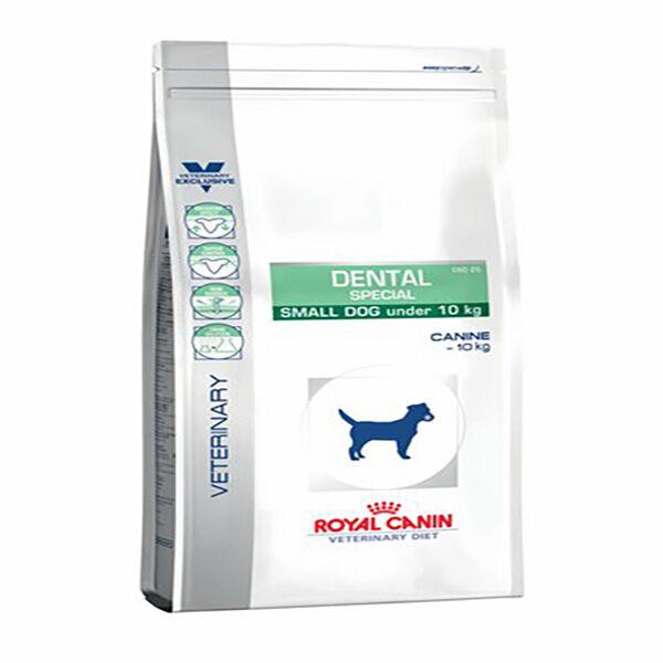 royal canin veterinary diet chien dental small dog (-10kg) (ref:dsd25) sac de 2kg de croquettes