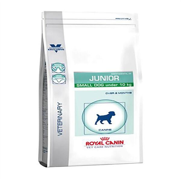 Royal Canin Vet Care Nutrition Pediatric Chien Junior( 2 à 8/10mois) Small-10kg Digest/Dental29 sac 2kg