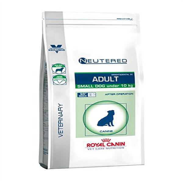 Royal Canin Vet Care Nutrition Neutered Chien Adulte (sterilisé +6mois) Small (-10kg) croquettes sachet de 800g
