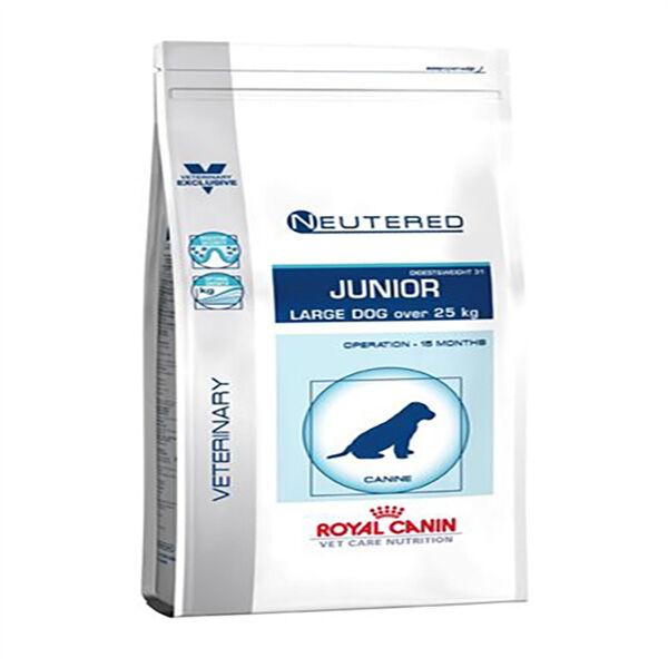 Royal Canin vet Care Nutrition Neutered Chien Junior (stérilisé a 15/24mois) Large (+25kg) Croquettes 4kg