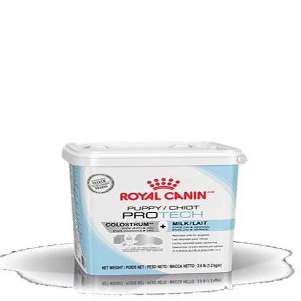 royal canin veterinary care nutrition puppy (chiot) pro tech lait maternise poudre orale boite 1kg2