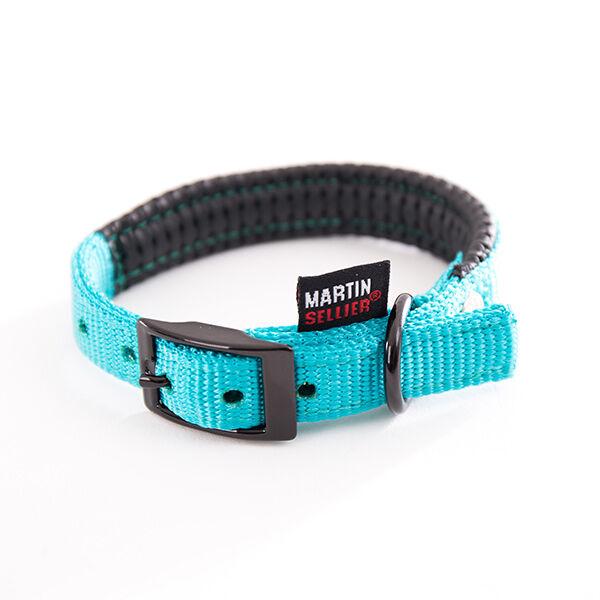 Martin Sellier Collier Droit Confort 25mm x 55cm Turquoise