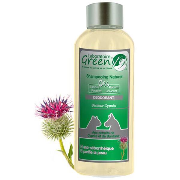 Greenvet Shampoing Naturel Deodorant Chien Chat 250ml