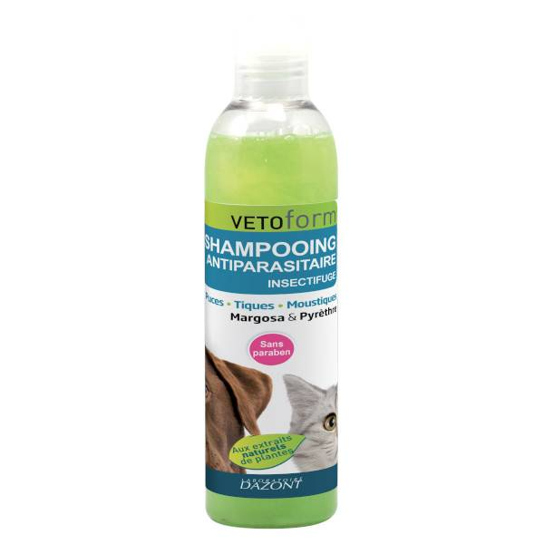 Vetoform Shampooing Antiparasitaire Insectifuge 250ml
