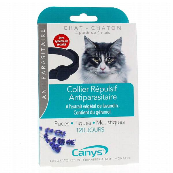 Canys Collier Répulsif Antiparasitaire