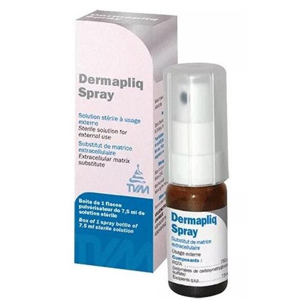 Therapeutique Vet Moderne Dermapliq Apport Substitut Matrice Extracellulaire Petits Animaux Cheval Solution Externe Spray 7,5ml