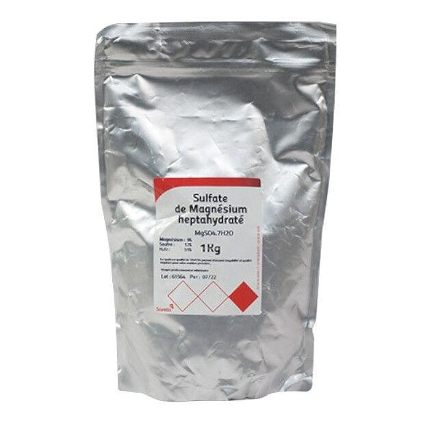 Savetis Sulfate de Magnésium poudre 1kg