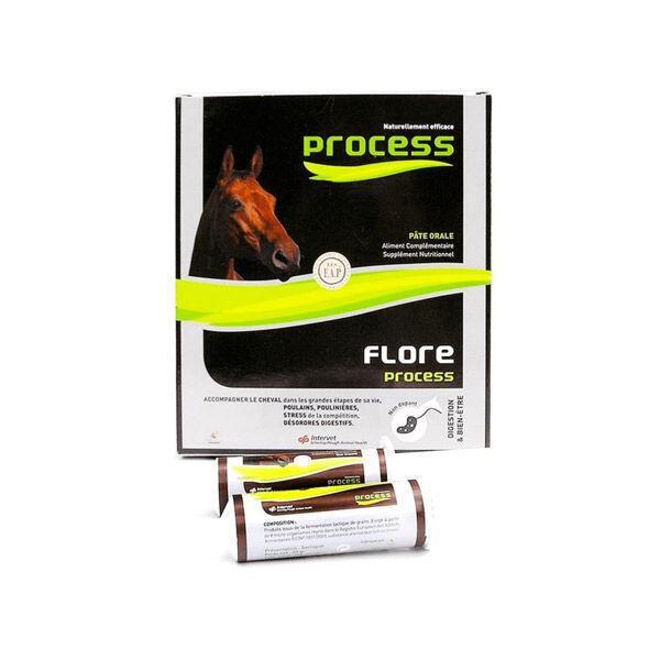 Intervet MSD Sante Animal Flore Process Chevaux Pâte Orale 5 seringues de 20ml