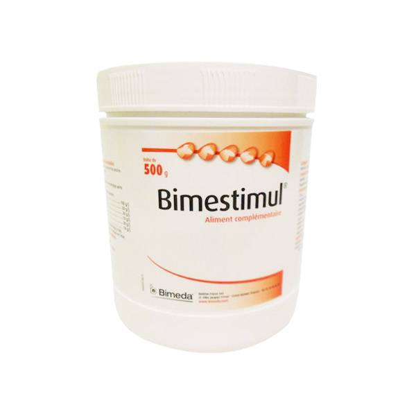 Bimeda Bimestimul Stimulation Hepato-digestive Bovin Cheval Ovin Caprin Porcin poudre orale 500g